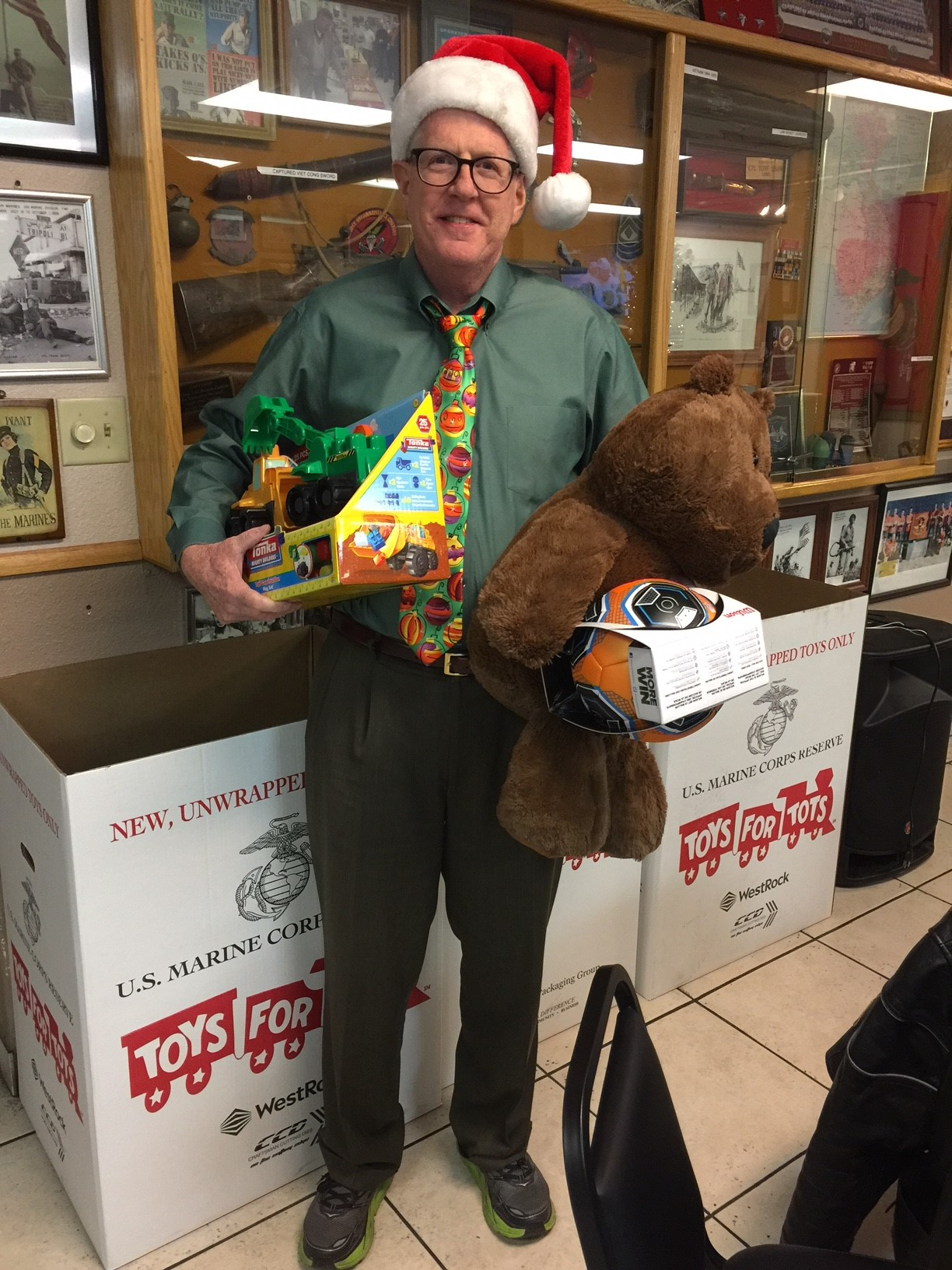 Las Vegas Toys For Tots : Las vegas cpcu society chapter christmas party toys